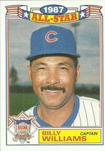 1988 Topps Glossy All-Stars #22 Billy Williams CAPT  - $0.50