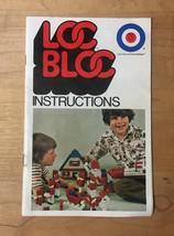 Vintage Loc Bloc 600 (Entex) Construction Blocks Set image 7