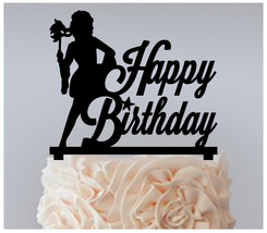 Birthday Cake topper,Cupcake topper,silhouette masks carnival Package : ... - $20.00