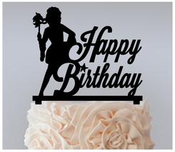 Birthday Cake topper,Cupcake topper,silhouette masks carnival Package : ... - $20.00