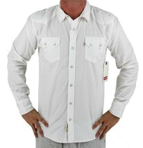 NEW NWT LEVI'S MEN'S CLASSIC LONG SLEEVE BUTTON UP SHIRT WHITE 3LDLW0921