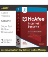 McAfee Internet Security 2018 Latest, 1 PC / 1 Year - License in eBay Me... - $7.76 CAD