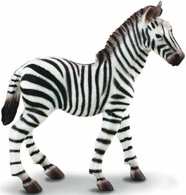 Primary image for <><   CollectA Wildlife - Zebra Foal 88168  well made