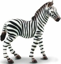 <><   CollectA Wildlife - Zebra Foal 88168  well made - $5.85