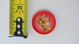 Fisher Price Barnyard Bingo game replacement used coin token red cow - $2.96