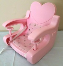 Baby Doll Clip On Booster Seat Pink Table Top High Chair Furniture for 1... - $14.99