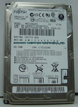 MHT2060AS Fujitsu 60GB 2.5in IDE Drive Tested Good Free USA Ship Our Dri... - $14.65