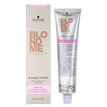 Schwarzkopf BlondMe Blonde Toning Toner With Liquid Keratin T-Apricot 60ml/2oz - $11.81