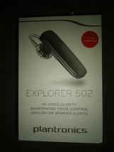 Plantronics Explorer 502 Bluetooth Wireless Headset - Black - New in Box - $28.00