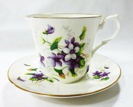 Springfield Inghilterra Ceramica di Alta Qualità Tè Tazza e Saucer Lavan... - $27.92
