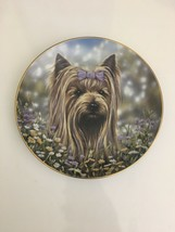 The Danbury Mint Yorkie Pals Plate Collection Bow Peep by Paul Doyle - $69.29