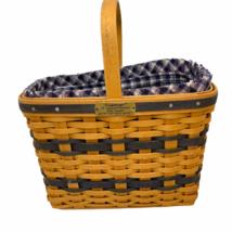 Longaberger Collector's Club 2000 JW Miniature Bread Milk Basket Liner P... - $24.00