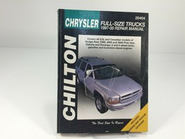 1997-2000 Chilton's Chrysler Full Size Trucks Repair Manual 20404 - $14.99