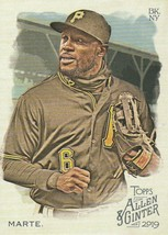 2019 Topps Allen and Ginter #239 Starling Marte  - $0.50