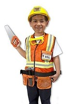 Melissa & Doug Kids Construction Worker Outfit and Set of Vehicles Activity Set - $59.35