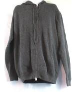 Polo Ralph Lauren Men's Big Gray Hoodie Full zip size 2XB  - $146.03