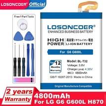 Losoncoer 4800mAh BL-T32 Battery For Lg G6 G600L G600S H870 H871 H872 H873 LS993 - $19.62