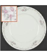 Vintage GST1 by Gold Standard PORCELAIN CHINA Pink Flower Dinner Plates - $12.19