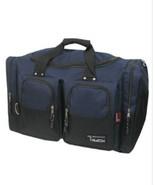 DUFFELBAG 25 Inch DUFFEL Navy Gym BAG Medium Carry On Tote Sport Heavy Duty - $28.00