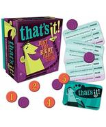 Hammond toys Thats It Party Game - $9.99
