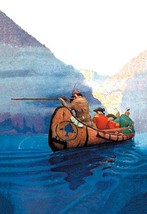 Race Across the Lake by N.C. Wyeth - Art Print - $19.99+