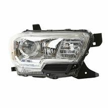 Headlight Headlamp Right Passenger For 2016-2020 Toyota Tacoma SR/SR5 w/o DRL - $127.11