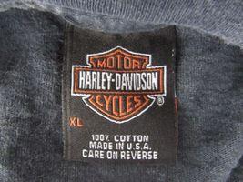 Harley Davidson Motos Neuf Richmond Wisconsin Gris T-Shirt Hommes XL B5 image 6