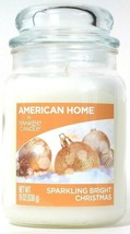 1 American Home By Yankee Candle 19 Oz Sparkling Bright Christmas Jar Candle - $26.99