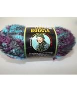 """Lion Brand Boucle' Yarn #210 """"Snow Cone"""" Mohair Blend 2.5 oz Dye Lot #31519 - $4.99"""