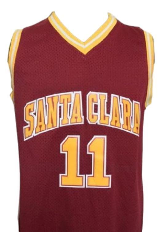 Steve nash college basketball jersey maroon   1