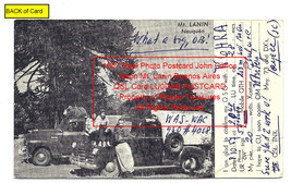 1957 Real Photo Postcard John Carlos Naon Mt. Lanin Buenos Aires QSL Car... - $325.99