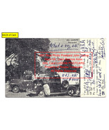 1957 Real Photo Postcard John Carlos Naon Mt. Lanin Buenos Aires QSL Car... - $325.99