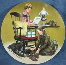 Fathers Day Americana Holidays 1982 Knowles Collector Plate Don Spauldin... - $14.97