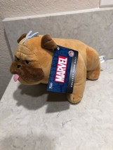 Funko Plush Marvel The Inhumans Lockjaw Stuffed Plush Dog A19 New With Tags - $14.95