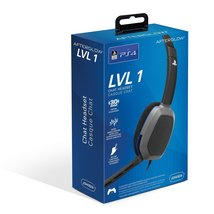 "PlayStation 4 ""Afterglow"" Chat Corded Headset, Black - $4.00"