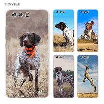 BINYEAE German Shorthaired Pointer Hard Transparent Case Cover Coque for... - $12.93