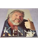 Vintage Kenny Rogers Tour Program Souvenir Booklet Country Pop Music - $7.95