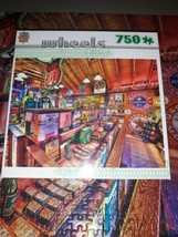 Masterpieces Wheels Vintage Pickers Linda Berman 750 Piece Jigsaw Puzzle - $16.34
