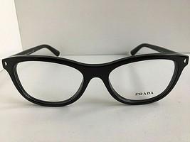 New PRADA VPR 0R5 1AB-1O1 53mm Black Women's Eyeglasses Frame #5 - $189.99