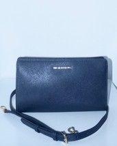 NWT MICHAEL KORS JET SET TRAVEL LARGE CROSSBODY / CLUTCH / ADMIRAL BLUE - $110.00