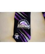 Colorado Rockies MLB Baseball VTG Spring Training SILK Neck Tie Necktie ... - $36.62