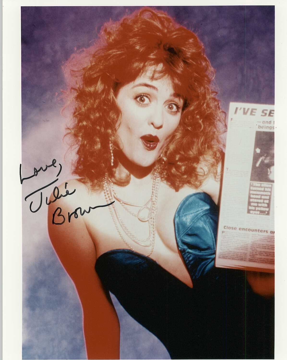 Primary image for Julie Brown Signed Autographed Glossy 8x10 Photo