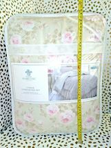 Simply Shabby Chic Duchess Blossom Twin COMFORTER Set Pink Tan  Cottage Floral image 6