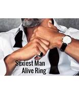 SEXIEST MAN ALIVE Ring Sexy Magnetic Magick Be sexy and very very wanted  - $299.00