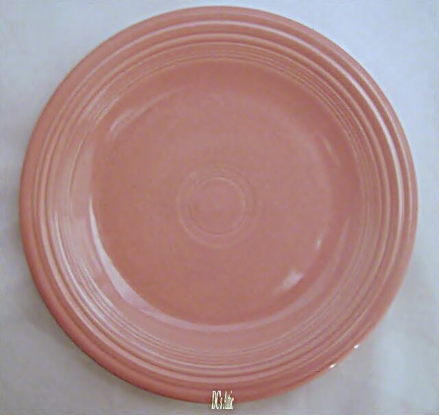 Homer Laughlin Fiesta Rose Round Platter