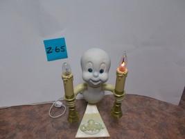 Casper the Friendly Ghost Candelabra Light Trendmasters 1996 Halloween Prop - €28,76 EUR