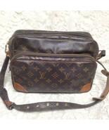 Authentic Louis Vuitton Brown Mono Nile Crossbody 11inx8inx4.5in (TH8911) - $284.95