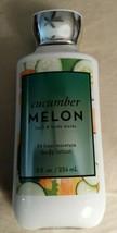 Cucumber Melon NEW 8 oz Super Smooth Body Lotion Bath & Body Works - $15.53