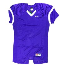 Nike Performance Vented Practice Football Jersey Men's XL Purple White 6... - $22.51