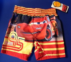 INFANT BOYS SWIM TRUNKS SHORTS SIZE 18 MONTH DISNEY CARS UPF 50+ - $11.92